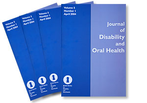 Journal of Disability and Oral Health